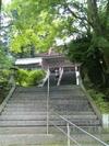 明石寺山門へ続く階段
