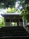 禅師峰寺山門