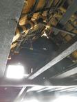和田家の茅葺屋根の裏1