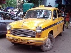 コルカタのタクシー