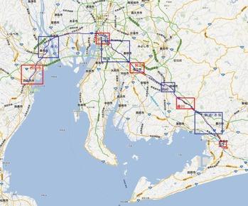 東海道五十三次自転車のたび4日目