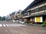 木曽福島駅前