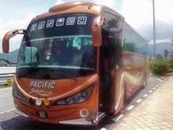 マレーシアのVIPバス