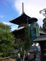 立江寺大師像と多宝塔