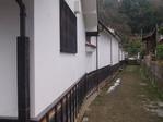 熊谷家住宅の横の路地