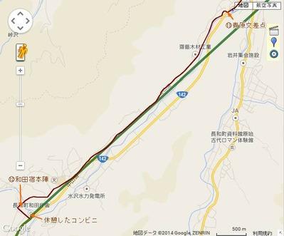 和田宿~笠取峠