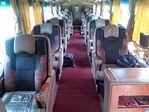 VIPバスの内装