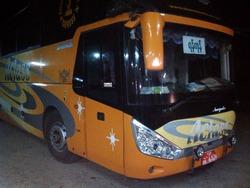 バガン発ヤンゴン行きのバス