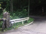 笹子峠の峠道