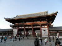 東大寺大仏殿の入口