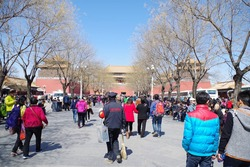 午門前の広場