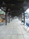 善通寺西院大師堂への回廊