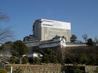 三の丸からの姫路城(天空の白鷺)