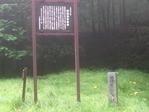 西餅屋茶屋跡の碑
