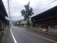 駒橋宿の町並み