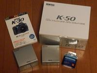 K-50ダブルズームキット購入