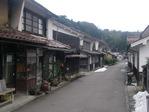 熊谷家住宅前の道
