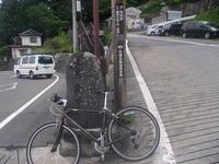 和田峠への分かれ道