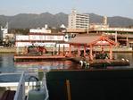 宮島口の桟橋
