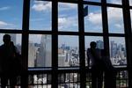 東京タワーから東京を一望
