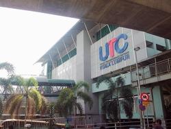 Pudurayaのバスターミナル