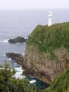 足摺岬の白い灯台