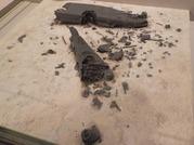戦艦大和の残骸の模型