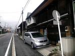 松井田宿の町並