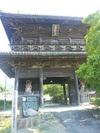 熊谷寺のデカイ山門