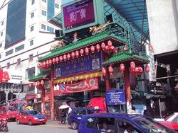 チャイナタウンの入口