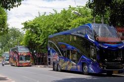 タイのツアーバス