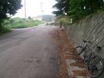 塩尻峠への道