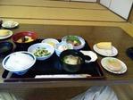 立江寺宿坊夕食