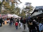 奈良公園の露店