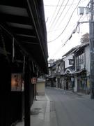 町屋通りの町並み