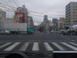 広島市内を抜ける