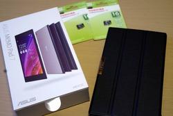 ASUS MEMO Pad7、専用ケースとSDカード