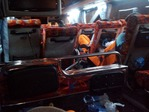 メーソット行き夜行バスのシート
