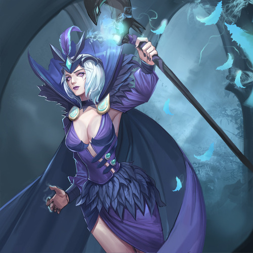 Ravenborn-LeBlanc-League-of-Legends-Fan-Art-221215