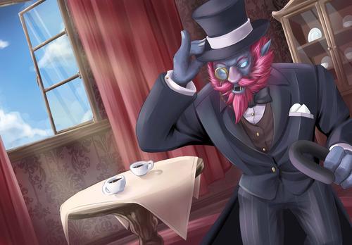 gentlemen_trundle_by_leochou-d6tp7kh