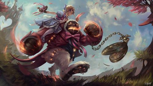 Wonderland-Annie-Fan-Art-By-Skyzooth