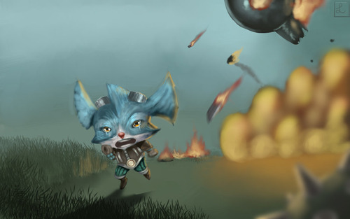 league_of_legends__rumble_s_close_call_by_metalliam-d63t9hr