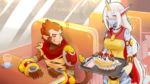 wukong_and_soraka_commission_by_sollyz-d7muk15