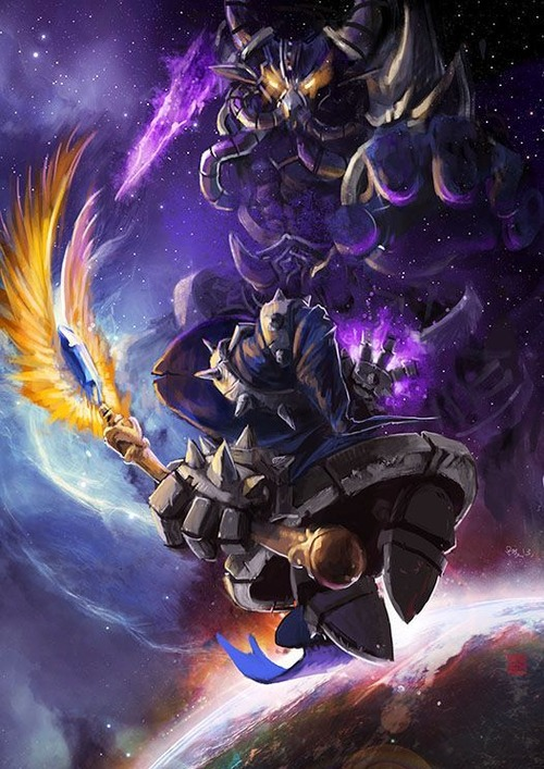 Kassadin-Vs-Veigar-League-Of-Legends-Fan-Art