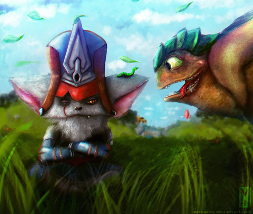 league_of_legends__kled_and_skaarl_fan_art_by_marcoshn-daewux7