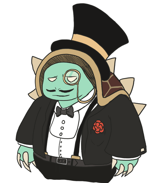 commission___gentleman_rammus_by_that_nerdy_red_head-d8qvwe2