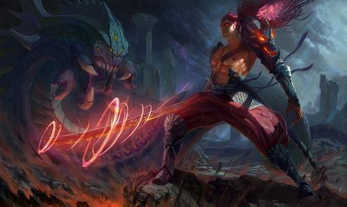 Dragon Slayer Yasuo
