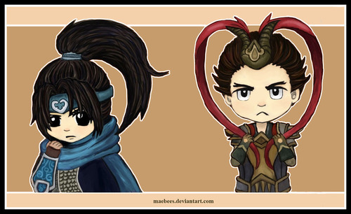 xin_zhao_and_jarvan_by_maebees-d6see75