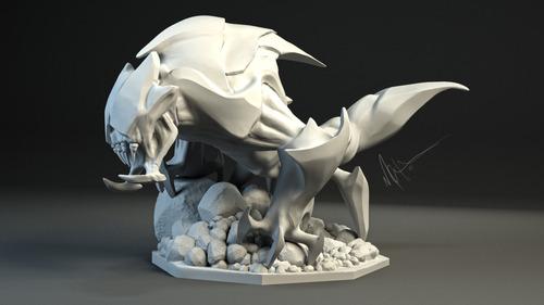 rek_sai_sculpt_by_kontayjin-d8nvyi9