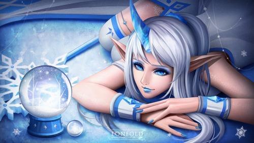 snowflake_soraka_by_loneold-d9li201